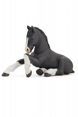 Papo Black Shire Foal