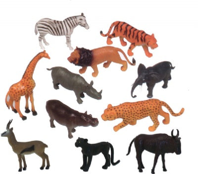 Zoo Animals Playset