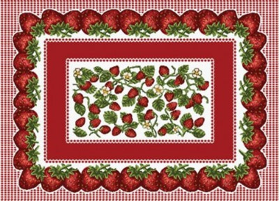 Strawberry Fest Pm (Placemat)