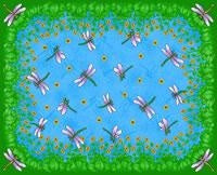 Dancing Dragonfly Pm (Placemat)