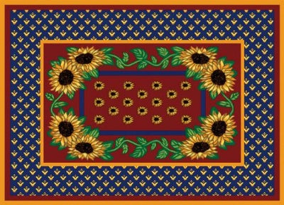 Sunflower Splendor Pm (Placemat)