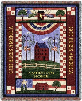 American Home (Tapestry Throw)