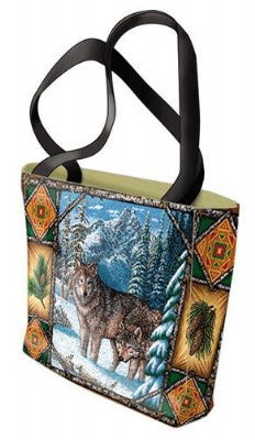 Wolf Lodge Bag (Tote Bag)