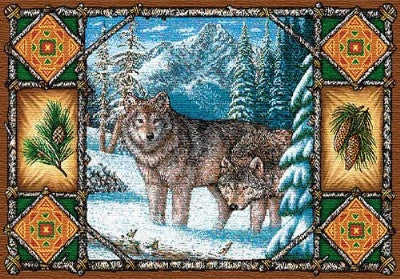 Wolf Lodge Pm (Placemat)
