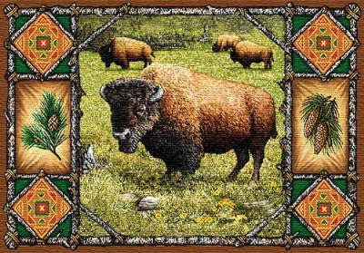 Buffalo Lodge Pm (Placemat)