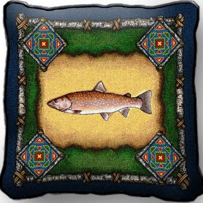 Fish Lodge Pillow (Pillow)