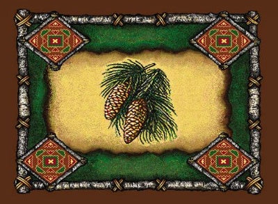 Pine Cone Lodge Pm (Placemat)