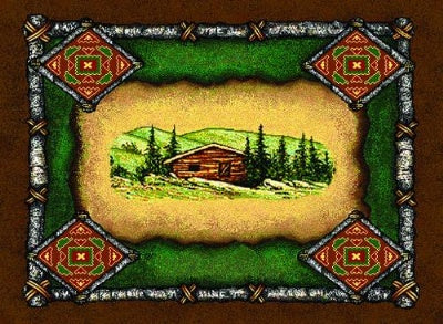 Lodge Cabin Pm (Placemat)