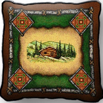 Cabin Lodge  Pillow (Pillow)