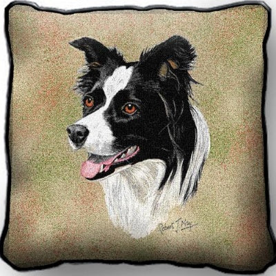 Border Collie Pillow (Pillow)