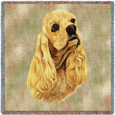 Cocker Spaniel (Tapestry Throw)