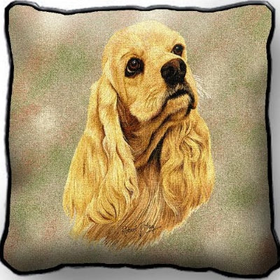 Cocker Spaniel Pillow (Pillow)