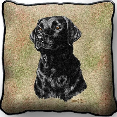 Black Lab   Pillow (Pillow)
