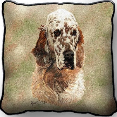 English Setter Pl Cov (Pillow)