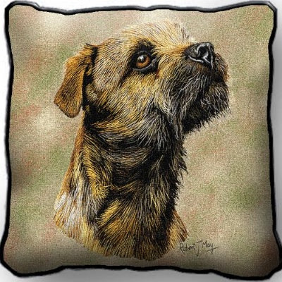 Border Terrier Pillow (Pillow)