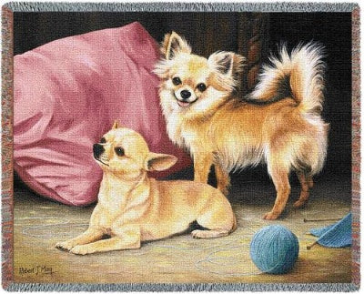 Chihuahua (Tapestry Throw)