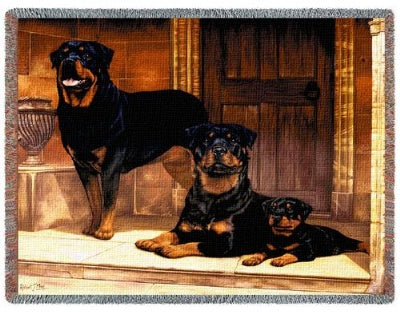Rottweiler (Tapestry Throw)