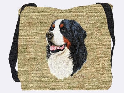 Bernese Mtn Dog Bag (Tote Bag)