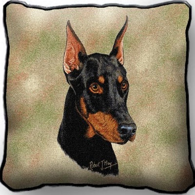 Doberman  Pillow (Pillow)