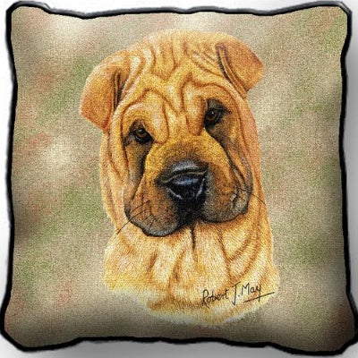 Sharpei Pillow (Pillow)