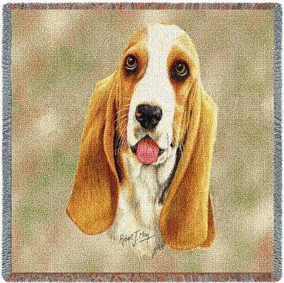 Basset Lap Sq 54X54 (Tapestry Throw)