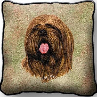 Lhasa Apso Pillow (Pillow)