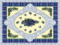 Blueberry Lace Pm (Placemat)