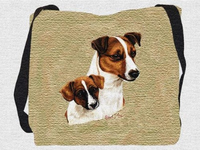 Jack Russell Pup Bag (Tote Bag)