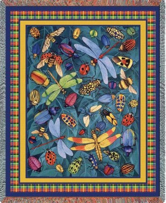 Bugs Life (Tapestry Throw)
