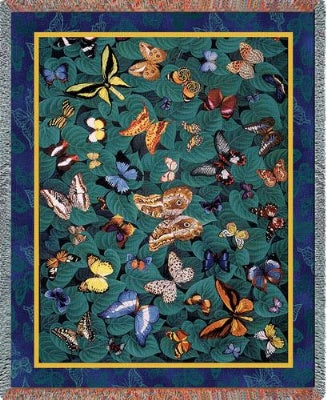 Butterfly Dance (Tapestry Throw)