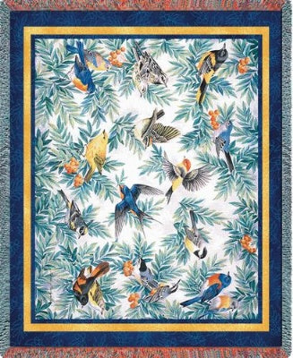 Songbirds (Tapestry Throw)