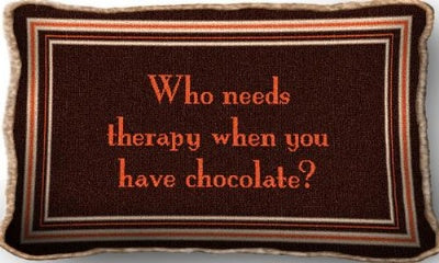 Chocolate Therapy (Pillow)