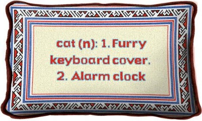 Cat Definition (Pillow)