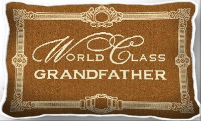 Wc Grandfather (Pillow)