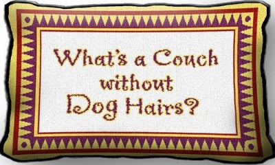 Dog Hairs (Pillow)