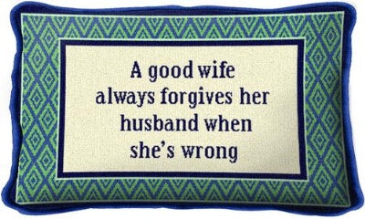 Good Wife (Pillow)
