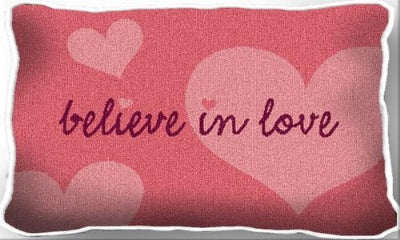 Believe In Love (Pillow)
