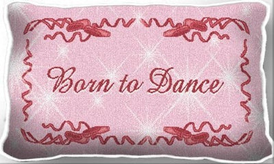 Born To Dance (Pillow)