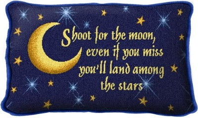 Shoot For The Moon (Pillow)