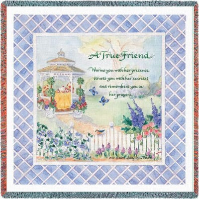True Friend (Tapestry Throw)