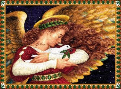 Angel Dove Placemat (Placemat)