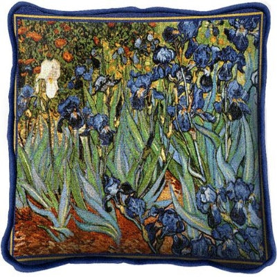Van Goghs Irises Pill (Pillow)