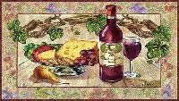 Wine & Cheese Pm (Placemat)