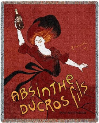 Absinthe Ducros Fils-WOD5 (Tapestry Throw)