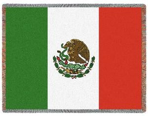 Mexico Flag (Afghan)