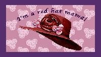 Red Hat Mama Placemat (Placemat)