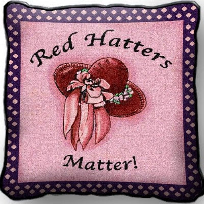 Red Hatters Matter (Pillow)