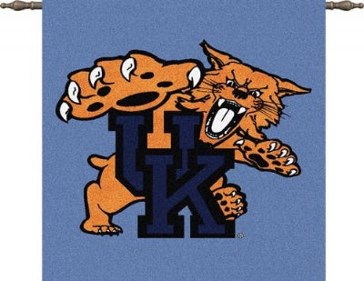 University Kentucky Mascot Wh Woodr (Wall Hanging)