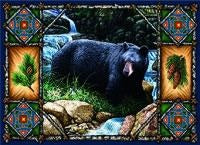 Bear Lodge Placemat (Placemat)