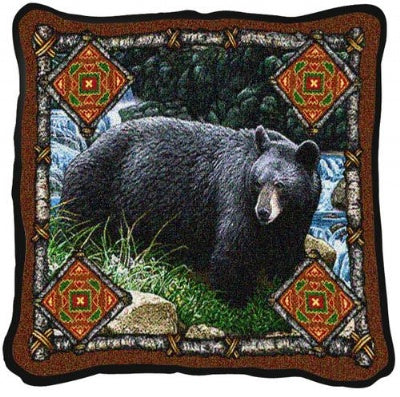 Bear Lodge Pillow (Pillow)